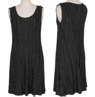 ISSEY MIYAKE Pleats Please Black Dress sz3