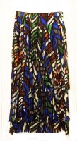 ISSEY MIYAKE Pleats Please Breathing Leaves Series Skirt sz3