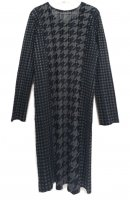 ISSEY MIYAKE Pleats Please Houndstooth Series Dress sz3