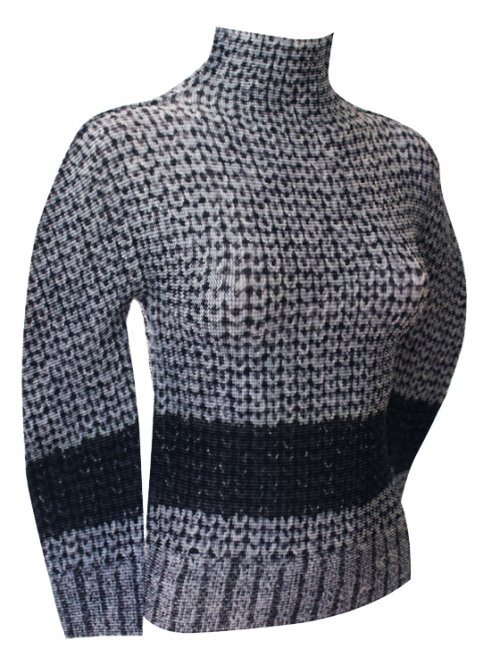 SALE 2014 Latest Series ISSEY MIYAKE me knit Top : NEW WITH TAGS
