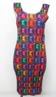 ISSEY MIYAKE Pleats Please Jewellery Dress sz4