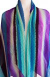 ISSEY MIYAKE Pleats Please Ray Stripe Series Scarf