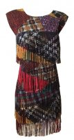 ISSEY MIYAKE Pleats Please Patchery Series Dress sz3