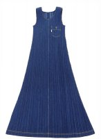 ISSEY MIYAKE Pleats Please Denim Dress sz3
