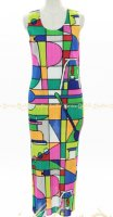 ISSEY MIYAKE Pleats Please Color Dress sz3