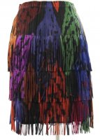 ISSEY MIYAKE Pleats Please Breathing Leaves Skirt sz3