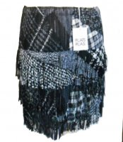 ISSEY MIYAKE Pleats Please Patchery Series Skirt sz3 : NEW WITH TAGS
