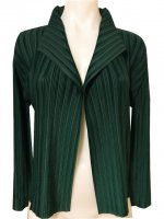 ISSEY MIYAKE Pleats Please Rib Pleats Series Jacket sz3 NEW WITH TAGS