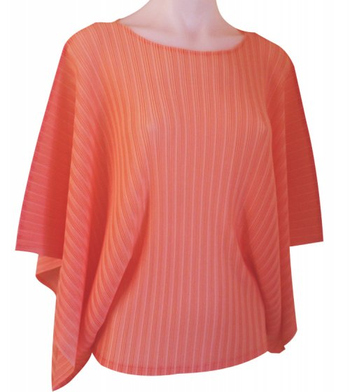 ISSEY MIYAKE Pleats Please Rib Pleats Top sz3 : NEW WITH TAGS