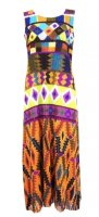 ISSEY MIYAKE Pleats Please Kite Fringe Dress sz3