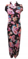 ISSEY MIYAKE Pleats Please Paisley Dress sz3: NEW