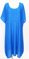 ISSEY MIYAKE Pleats Please Rib Pleats Blue dress SZ3