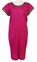 ISSEY MIYAKE Pleats Please Pink Houndstooth Series Dress SZ3
