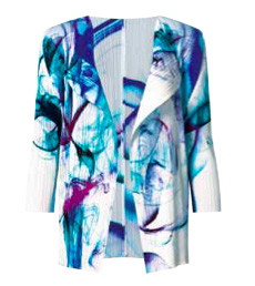 SALE 2014 Latest Series ISSEY MIYAKE Pleats Please Smoke Flow Jacket sz3 : NEW WITH TAGS