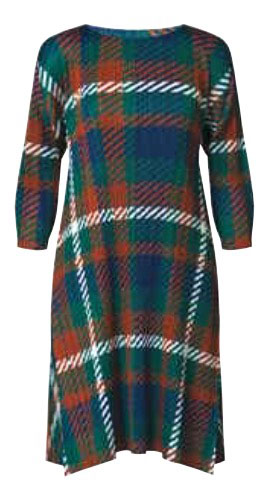 SALE 2014 Latest Series ISSEY MIYAKE Pleats Please Pleats Check Dress Sz2 : NEW WITH TAGS